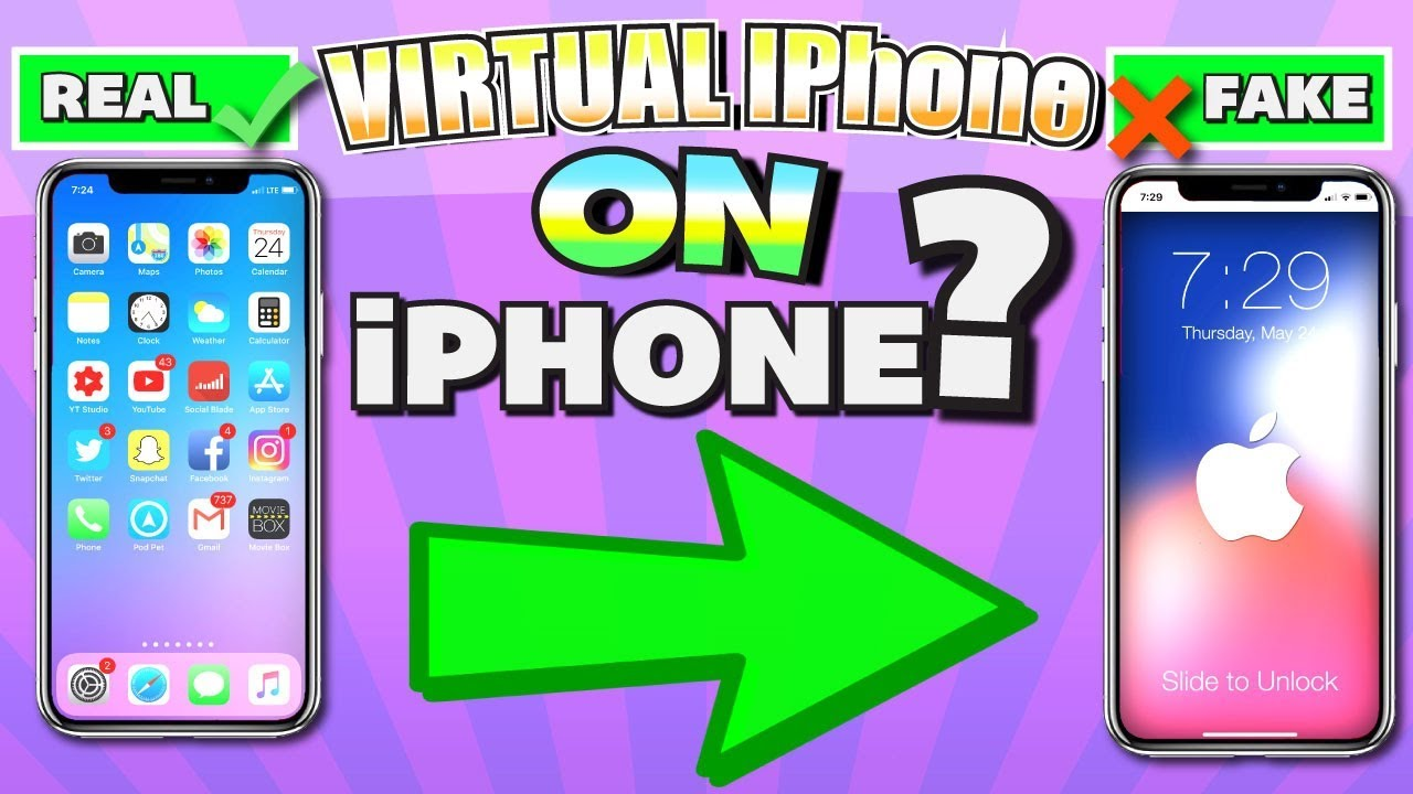 Get Virtual iPhone on iPhone (+ EXCLUSIVE Apps) IPHONECEPTION