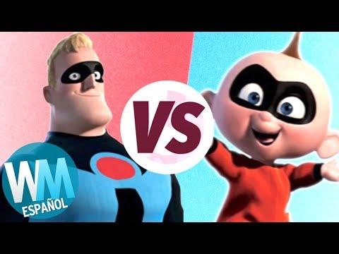 ¡Los Increíbles VS Los Increíbles 2!