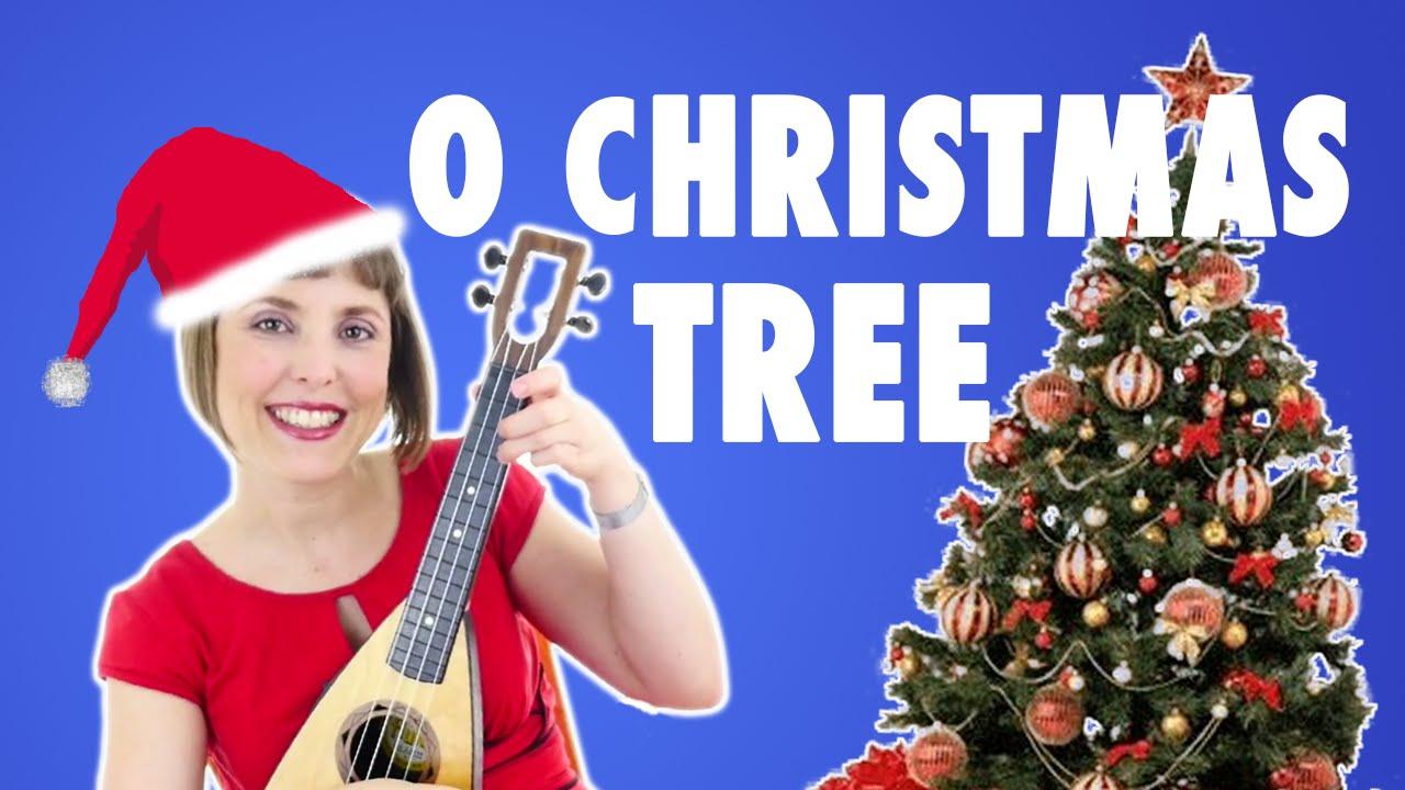 Holiday Kids Song O Christmas Tree by Alina Celeste - YouTube