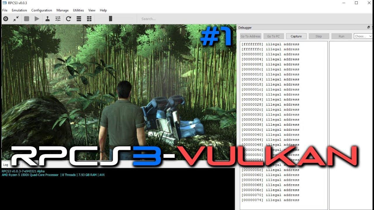PS3 Emulator-RPCS3-LLVM-Vulkan | Lost: Via Domus | #1 | flash-fire WIP