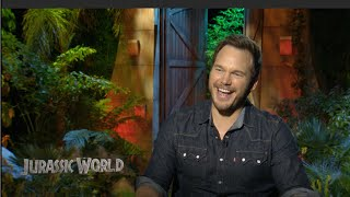 JURASSIC WORLD Interviews - Chris Pratt, Bryce Dallas Howard, Colin Trevorrow