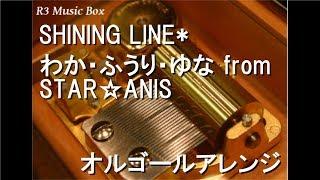 わか・ふうり・ゆな from STAR☆ANIS - SHINING LINE*