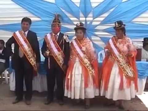Santiago de Pupuja 2012  Arnaldo y Fortunata