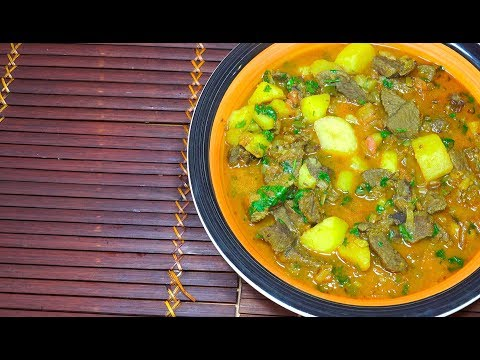 🔴 Beef Potato Curry - How to make Beef Curry - Beef Curry - Slow Cooked Beef - Beef Stew