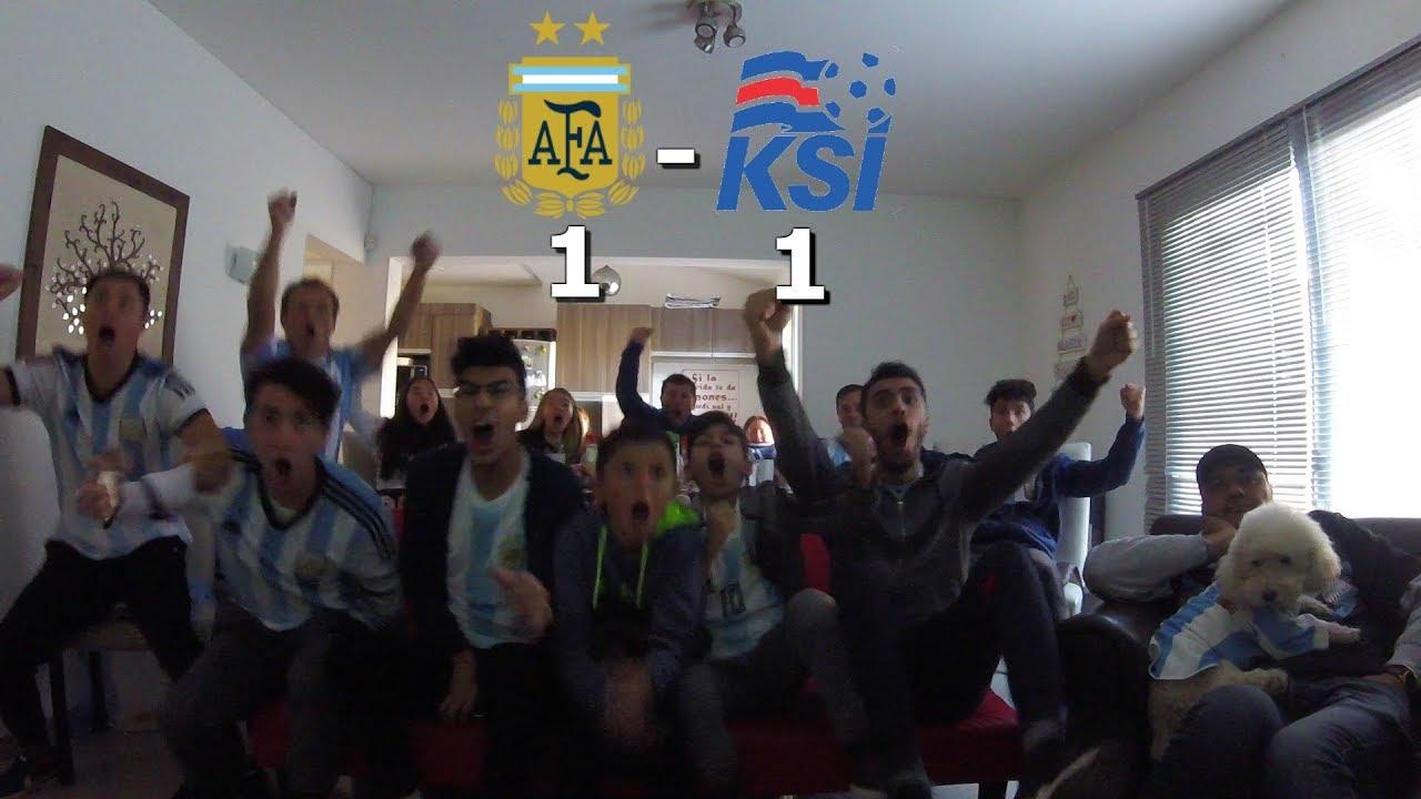 ||REACCIONES|| ARGENTINA 1 VS ISLANDIA 1|| MUNDIAL RUSIA 2018|| FECHA 1||