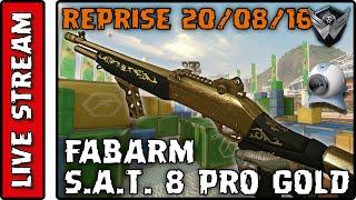 🎮 Warface, Fabarm S.A.T. 8 Pro Gold, Hangar OG16, [Reprise 20/08/16 - Parte 9]