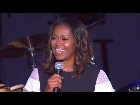 We Love This City: First Lady Michelle Obama Speaks to Chicagoans