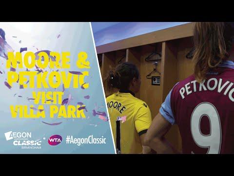 Aston Villa challenge - Andrea Petkovic v Tara Moore