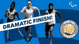 Men's 100m T42 | Round 1 Heat 1 | London 2017 World Para Athletics Championships