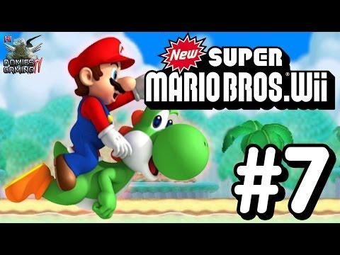 New Super Mario Bros. Wii # 7 ไม่น่าเชื่อ ปลาบินได้!!
