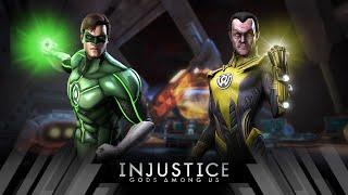 Injustice Gods Among Us - Green Lantern Vs Sinestro (Very Hard)