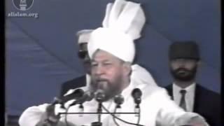 Concluding Address, Jalsa Salana 28 July 1990.