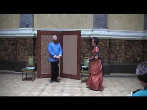 Emperor Francis Joseph receives Countess Festetics