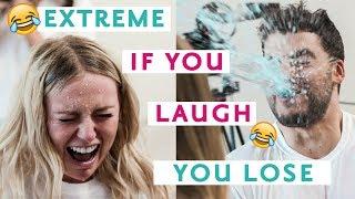 Don't Laugh *SPITTING* Challenge | SAD CHALLENGE