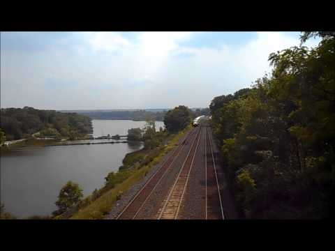Late Afternoon Railfanning at Bayview Junction