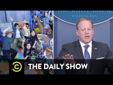 Sean Spicer: Kindergarten Press Secretary: The Daily Show