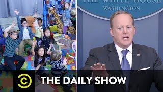 Sean Spicer: Kindergarten Press Secretary: The Daily Show thumbnail