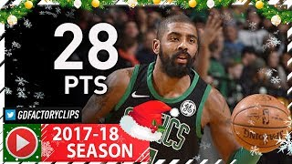 Kyrie Irving Full Highlights vs Nets (2017.12.31) - 28 Pts, 8 Reb