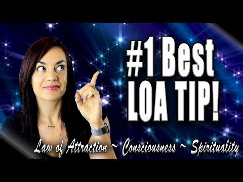 The #1 Best Law of Attraction Tip (For ANYONE)