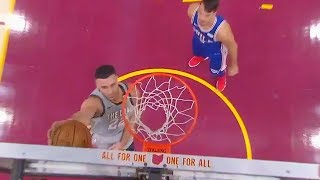 Larry Nance Jr Still Upset About Losing Dunk Contest, Shows Off New Dunk During the Game