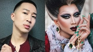 DRAG TRANSFORMATION: THE WICKED STEPMOTHER, LADY TREMAINE/TIME LAPSE