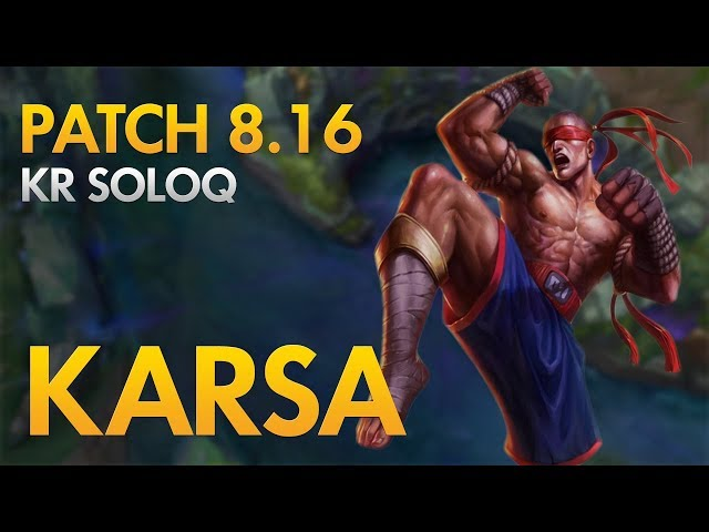 RNG KARSA - Lee Sin Jungle