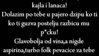 X-Plane Feat Rimski & Sladjana Ristic - Mafijas Lyrics