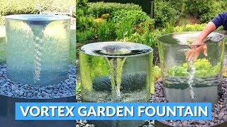 Giant Spinning Vortex Fountain For The Yard or Garden