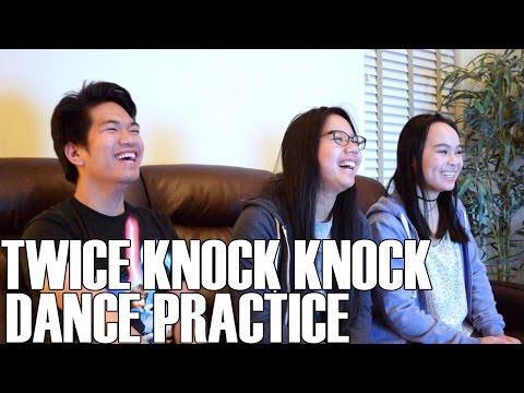 TWICE (트와이스)- Knock Knock Dance Practice (Reaction Video)