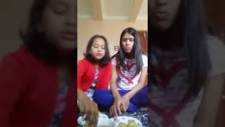 Brother sister golgappa challenge