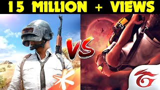 PUBG MOBILE Gamers Vs Garena Free Fire Gamers Comparison - Stickman - Which One Is Best?