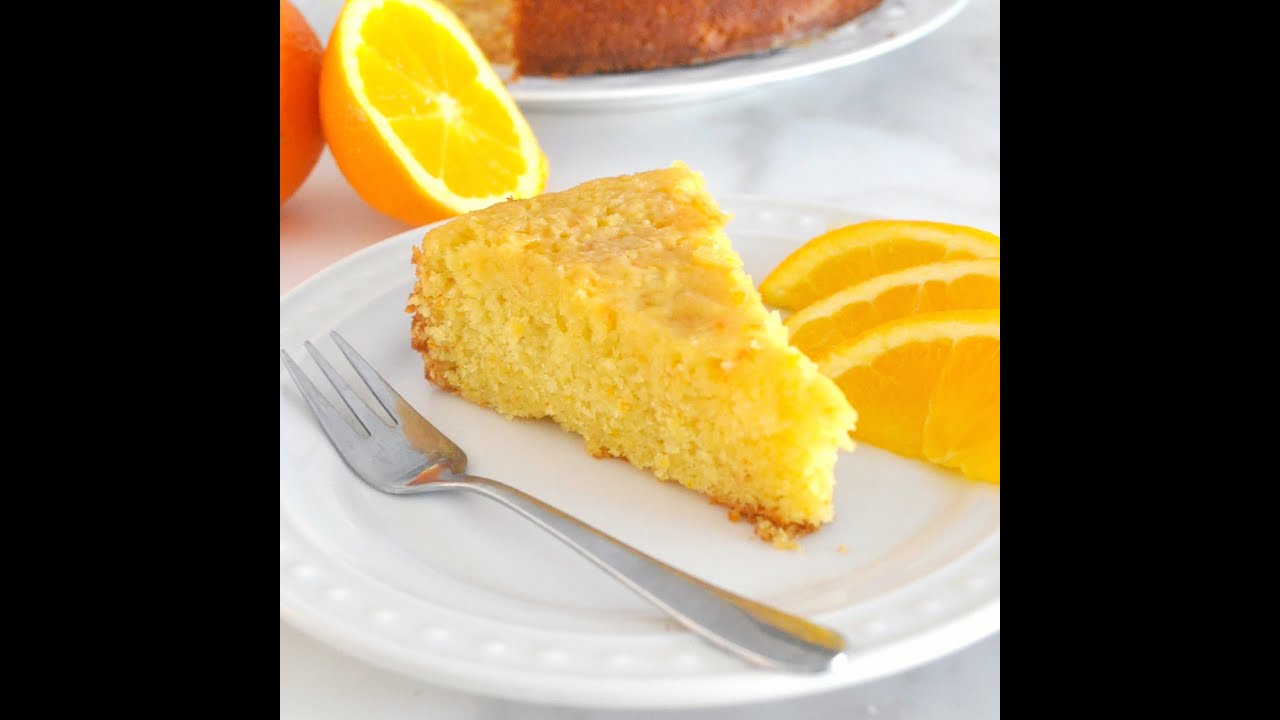 Soft Orange Cake Recipe