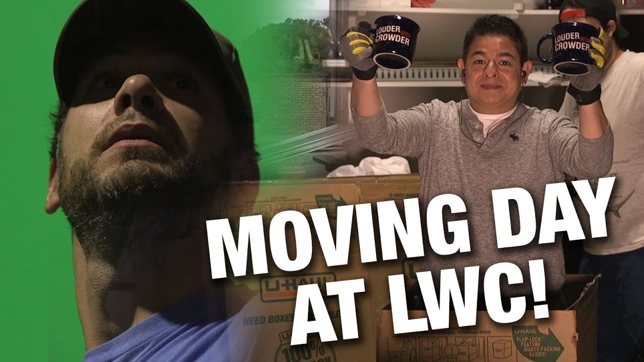 Steven Crowder MOVING UP! Louder with Crowder Studios Upgrades | Louder with Crowder