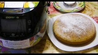 Домашние видео рецепты - простой пирог на кефире в мультиварке