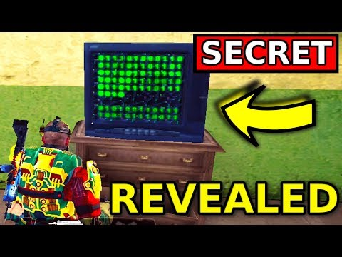 HIDDEN SECRET REVEALED On Call Of Duty Mobile Battle Royale!!
