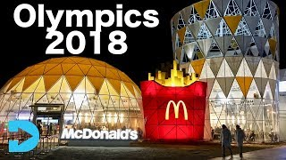 Inside the Olympic McDonalds - PyeongChang Korea 2018