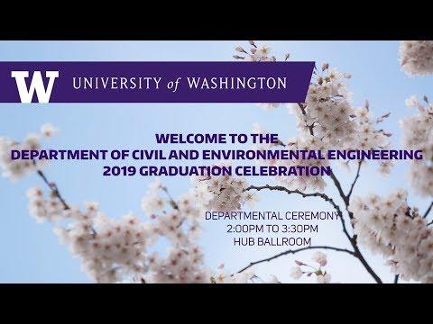 2019 Civil And Environmental Engineering Graduation