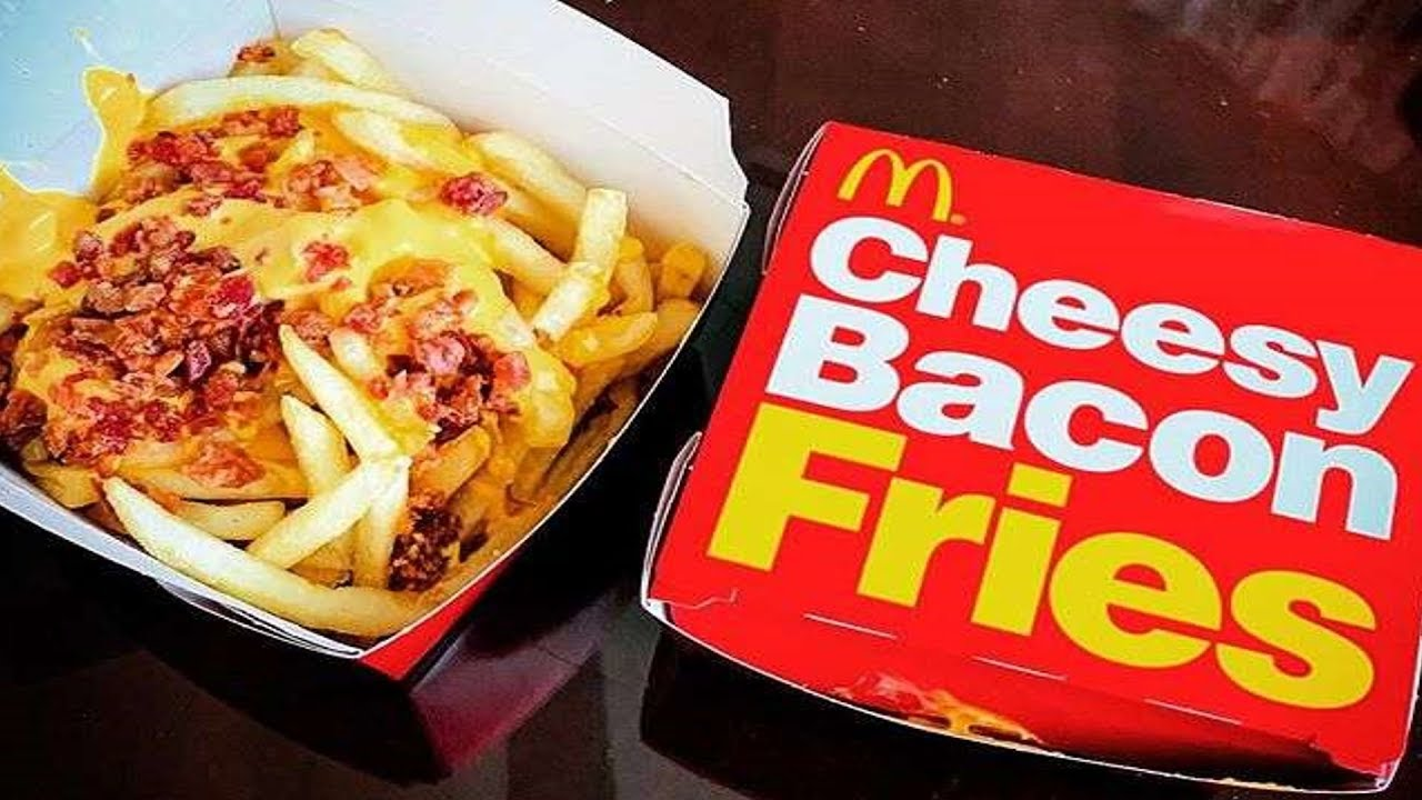 Carbs Mcdonalds Cheesy Bacon Fries
