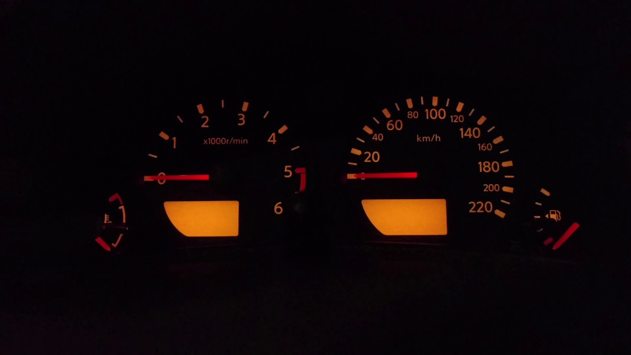 Nissan Navara D40 Ignition Wiring Diagram 4l60e Vss Dashboard Test Mode Youtube