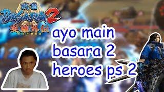 ayo main sengoku basara heroes ps 2 di pc