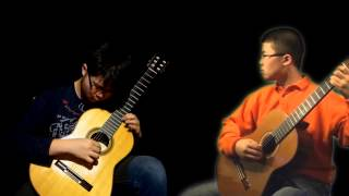 Arioso by J.S. Bach arr by Steve Erquiaga for 2 guitars