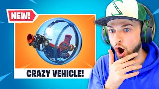 Fortnite's NEW vehicle is CRAZY!
