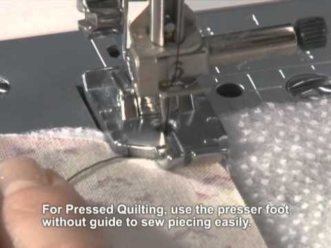 Brother Accessory 40040 Inch Piecing Foot English YouTube Adorable 1 4 Inch Sewing Machine Foot