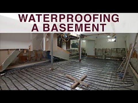 What To Know Before Waterproofing A Basement Diy Network You