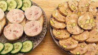 Куриная колбаса домашняя