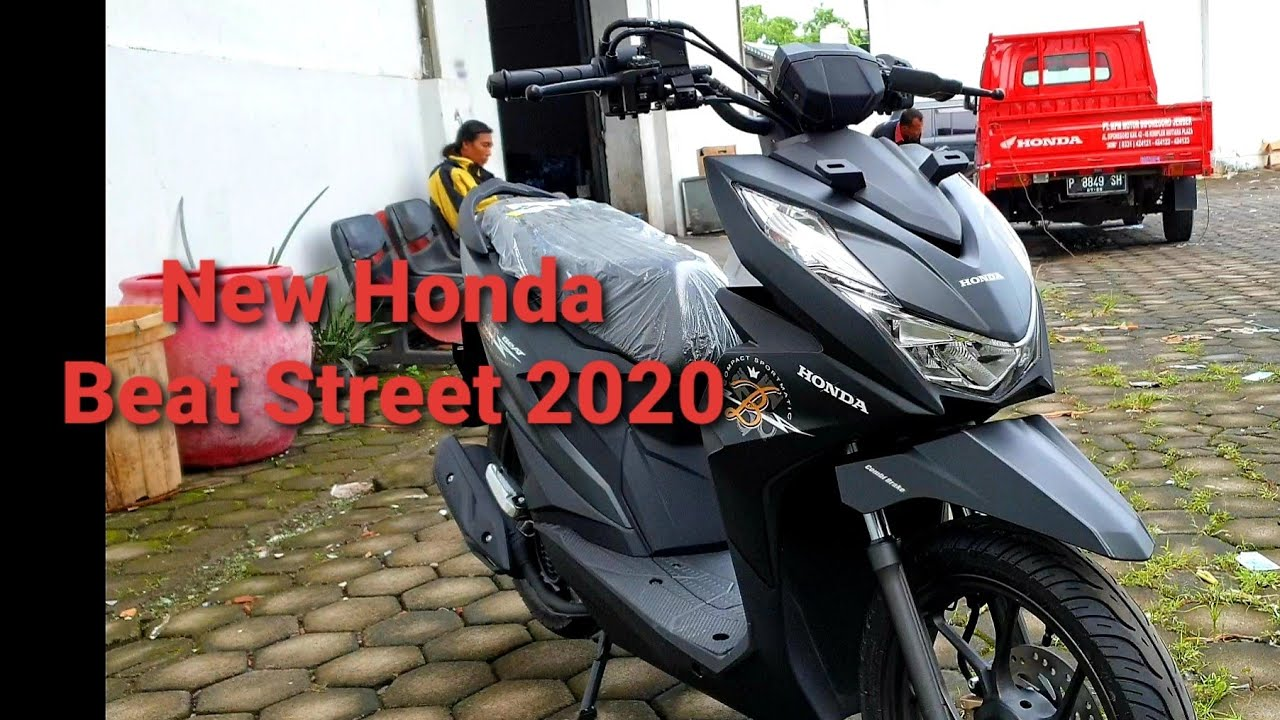 New Honda Beat Street 2020 Matte Black Youtube