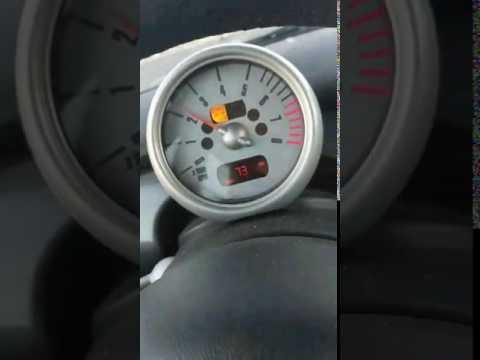 2006 MINI Cooper S - Tach & Speedo malfunction