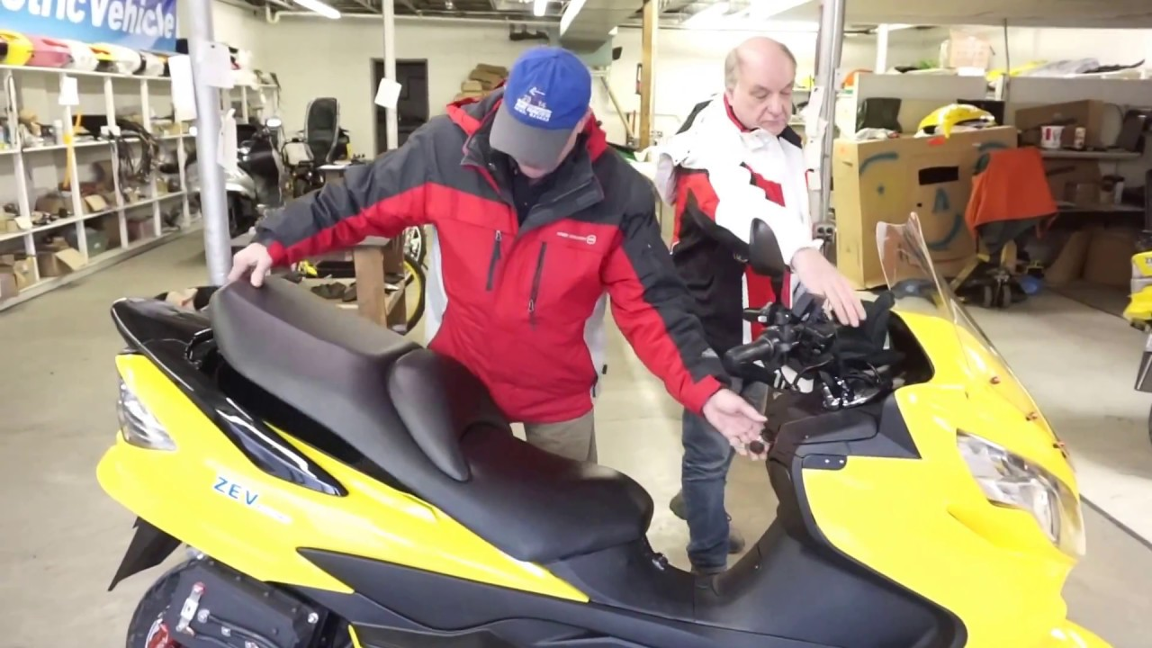 zev electric 2018 lrc x super scooter prototype uk test rider review youtube. Black Bedroom Furniture Sets. Home Design Ideas