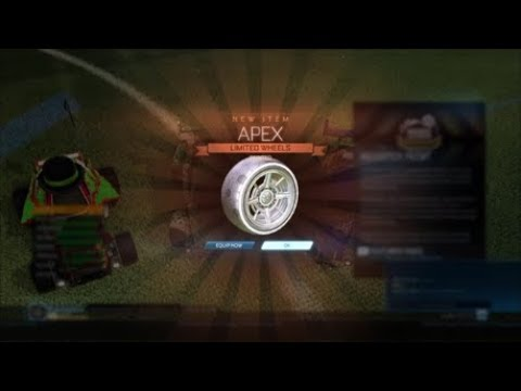 how to get apex wheels rocket league