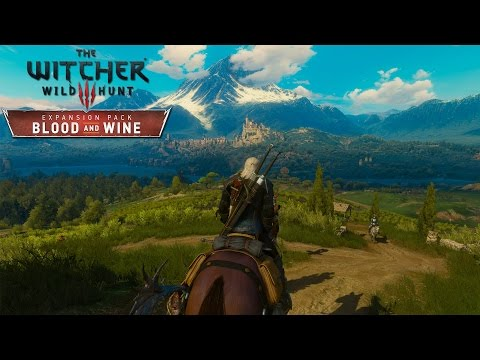 Witcher 3: Wild Hunt - Exploring Toussaint in 4K